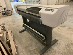 HP DesignJet 500ps 42 Large Format CAD Inkjet Printer Plotter $650.00