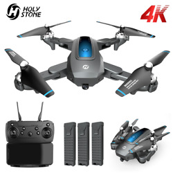 Holy Stone HS240 D10 FPV Drones with 4K Video Live Camera Foldable Altitude Hold $79.99