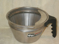 BUNN Stainless Steel Funnel Basket for Commercial For SH Model Coffee System