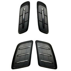 3X Hood Canopy Leaf Plate Air Outlet Decorative Exterior for Mercedes GLE W M0E3