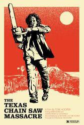 The Texas Chainsaw Massacre Horror Film Art Wall Room Poster POSTER 24x36 $18.99