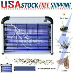 Indoor Bug Zapper Electric Insect Fly Pest Mosquito Killer LED Light Trap Lamp $31.99