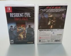 Resident Evil Triple Pack Nintendo Switch BRAND NEW $38.90