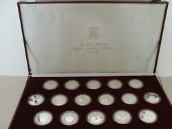 1981 Royal Marriage Silver Proof Coin Collection Prince Charles  $475.00