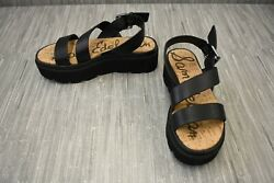 **Sam Edelman Rasheed Platform Sandals Women#x27;s Size 5.5M Black $21.00