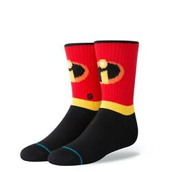 New with tags Stance Kids Socks Disney quot;Incredibles Boysquot; Youth Large 2 5.5 $8.99
