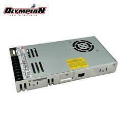 Mean Well LRS 350 24 Power Supply 24V 14.6A 350W Input 110V 220V AC to DC $29.95