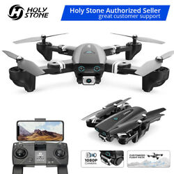 Foldable FPV Selfie Drones with 1080P hd Camera video Quadcopter GPS Return Home $99.88