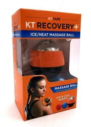 Ice amp; Heat Massage Ball for Injuries includes Interchangeable Inserts NEW