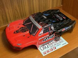 Arrma Senton 4x4 Body Shell Red/Black painted decaled AR402251 $34.99