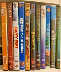 Family Kids DVD Movie Lot You Choose Combined Shipping Available! $2.99