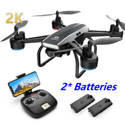 Holy Stone HS110D FPV RC Drones with Upgrade 1080p HD Video Camera RC Quadcopter $55.99