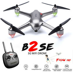 MJX B2SE Brushless FPV Drone with 5G Wifi 1080p HD Camera RC Quadcopter GPS RTF $129.99