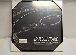 LOT OF (6) RECORD ALBUM FRAMES NEW in wrap. FREE SHIP $39.99