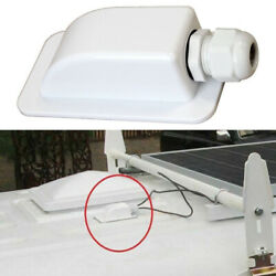 Roof Solar Panel Cable Entry Gland Single Cable Gland Box For Caravan Boat Parts $4.99