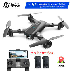 Foldable GPS FPV Drone with 1080P Camera Quadcoopter Follow Me Auto Return Home $114.99