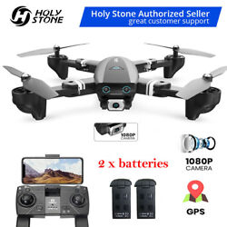 DEERC GPS Drone with 1080P Camera FPV RC Quadcoopter Follow Me Return to Home $99.99