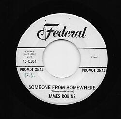 James Jimmy Robins - Someone From Somewhere  I'll Be There (SoulR $2.99
