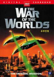 The War of the Worlds 1953 Gene Barr DVD FAST SHIPPING $4.65