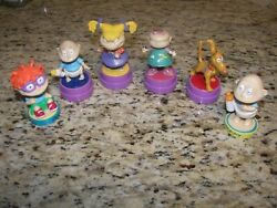 Vintage Nickelodeon quot;The Rugratsquot; Action Stampers $19.00