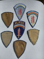 WWII THEATER MADE LOT SHAEF PATCHES GERMAN BERLIN BEVO $19.99