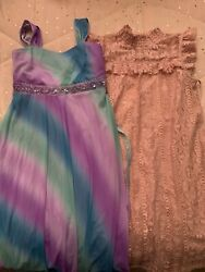 girls#x27; party dresses size 16 Lot $16.00