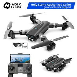 Foldable FPV Drones with 1080p hd video camera GPS Follow Me Auto Return to Home $75.99