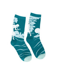 Nancy Drew Out of Print Unisex Crew Socks New Large Novelty Mystery Fashion $13.95