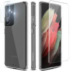 For Samsung Galaxy Note20 Ultra 5G Case Clear CoverCamera LensScreen Protector $6.95