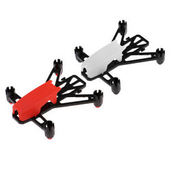 2x Q100 Micro FPV Racer Brushed RC Quadcopter DIY Frame Kit for Drone Supporter $10.30