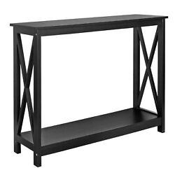 Console Table For Entryway Storage Shelf Entry Modern Farm Accent Sofa $59.99