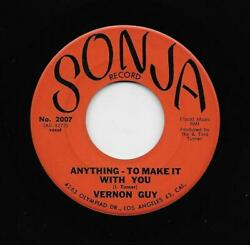 Vernon Guy - Anything To Make It With You  (inst.) (Soul 45) $2.99