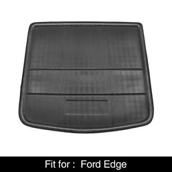 Black Rear Trunk Boot Liner Cargo Mat Floor Tray for Ford Edge 2015 2018 $29.99