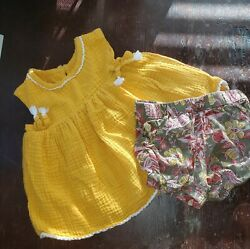 Yellow Boho Girls Outfit 18 Months $6.00