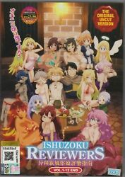 Interspecies Ishuzoku Reviewers TV Complete Series 1 12 English Subtitles $16.96