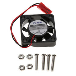 DC Small Brushless CPU Cooling Fan with Screws for Raspberry Pi 3B New $6.27