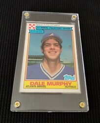1984 RPC #12 of 33 D. MURPHY Atlanta Braves TOPPS 1st. Annual Collectors Edition $29.99