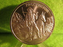 PROVIDENT PROSPECTOR 1 OUNCE SILVER ROUND    FRESH FROM MINT ROLL $29.50