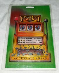 1990 Spring Tour Grateful Dead Laminated Credentials All Access Backstage Pass