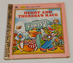 Henry and Theresa's Race by Ronne Peltzman (Golden Book) $4.00