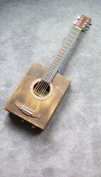 Martin Cigar Box Guitar Acoustic Electric Stum box Tramp Box $200.00