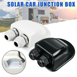 Roof Solar Panel Dual Cable Entry Gland Box For Motorhome Camper RV Boat Tool CS $8.79