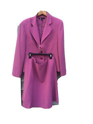 Larry Levine Skirt Suits Size 4 Pink $28.00