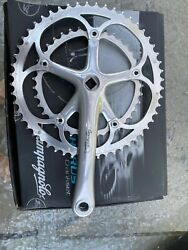 CAMPAGNOLO CHORUS 170L 135 BCD 5339T DOUBLE SQUARE TAPER CRANK SET WITH BOLTS $50.00