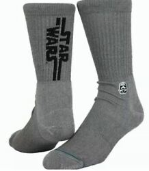 STANCE Socks Tilley#x27;s Classic Crew Star Wars Solid Storm Trooper $13.04