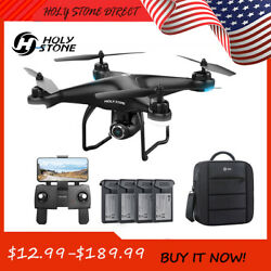 Holy Stone HS120D FPV Drones with 1080p camera video Selfie GPS Quadcopters Toys $99.99