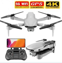 NEW F3 Drone GPS 4K HD 5G WiFi Live Video FPV Quadcopter Flight Wide Angle RC $138.31