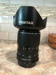 Pentax 67 Zoom Lens 90-180mm Excellent with hood 95mmUV Filter  $199.99