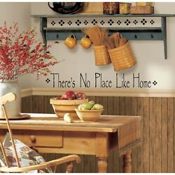 NO PLACE LIKE HOME WaLL Stickers Vinyl Decal Quote Room Decor Decals Decorations $8.99