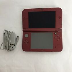 Nintendo 'New' Red 3DS XL Handheld Console Model RED-001 with Charger $149.00